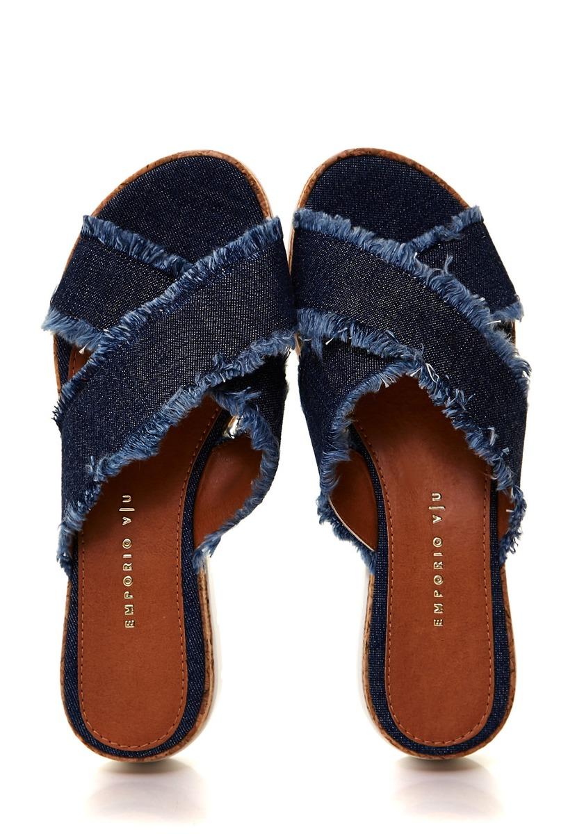 De Uno Marino Sandalias Via Mujer 21715601 Jeans Zuecos MVpqSzU