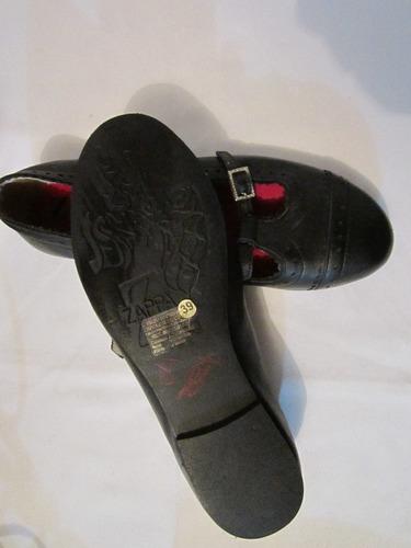 sandalia/zapato,cuero ,zappa,numero :38 a 39