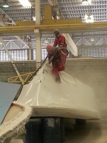sandblasting servicio para piezas y equipos industriales