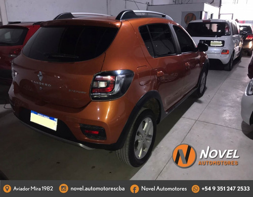sandero stepway 2016 impecable! rec menor/financio tasa 3%