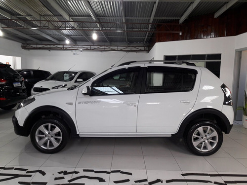 sandero stepway hi-power 1.6 8v ano 2014 placa i roda