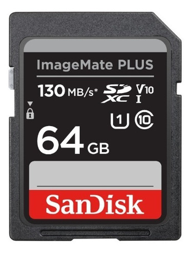 sandisk 64gb 130mb/s sd imagemate camera nikon samsung