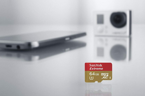 sandisk 64gb micro 90mbs sd xc 4k hd extreme android gopro