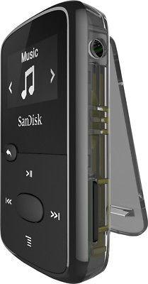 sandisk - clip jam 8 gb * reproductor de mp3 - negro