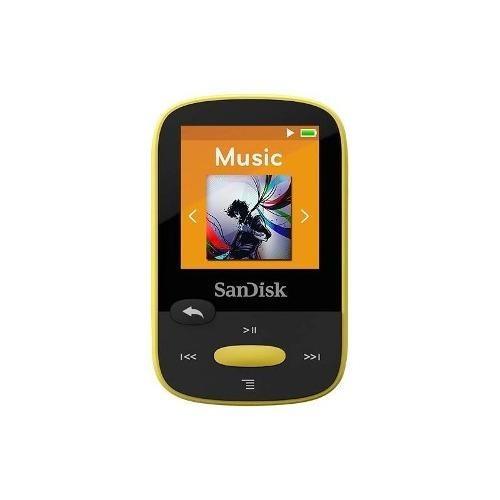 sandisk - clip sport 4 gb * reproductor de mp3 - amarillo