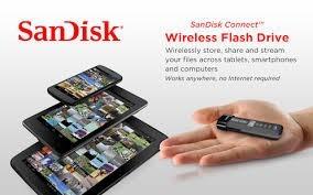 sandisk connect - unidad de almacenamiento wi-fi/usb 64 gb.