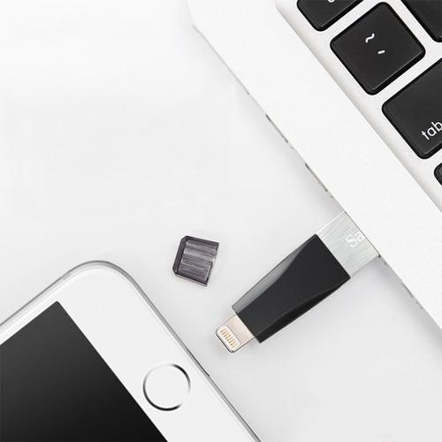 sandisk ixpand mini pendrive para iphone usb lightning 16g