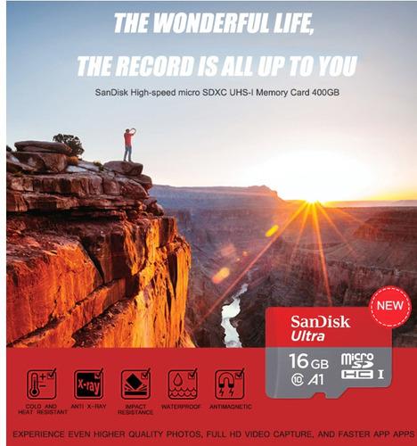 sandisk ultra 128 gb microsd 4k uhd clase a1 u3