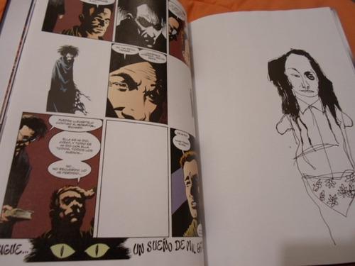 sandman tomo 3 vertigo comics pasta dura latino