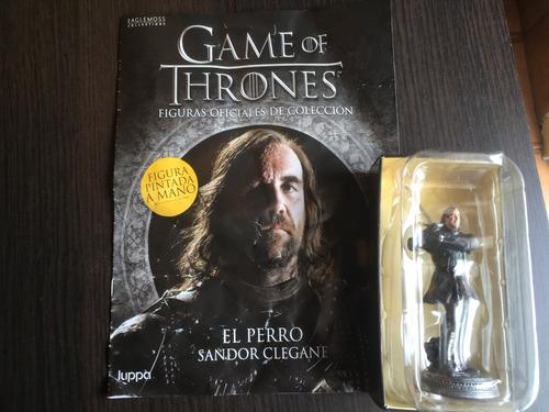 sandor clegane el perro - figuras game of thrones