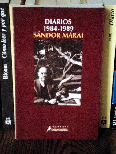 sándor márai, diarios (1984-1989) - l54