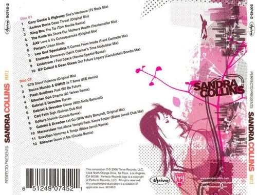 sandra collins cd perfecto presents nuevo original importado