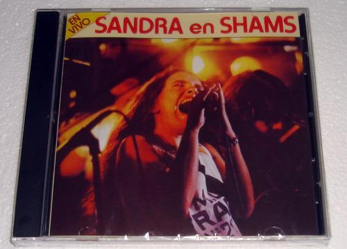 sandra mihanovich en vivo en shams cd sellado / kktus