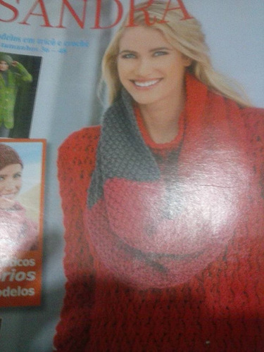 sandra tendências croché tricô - n 16