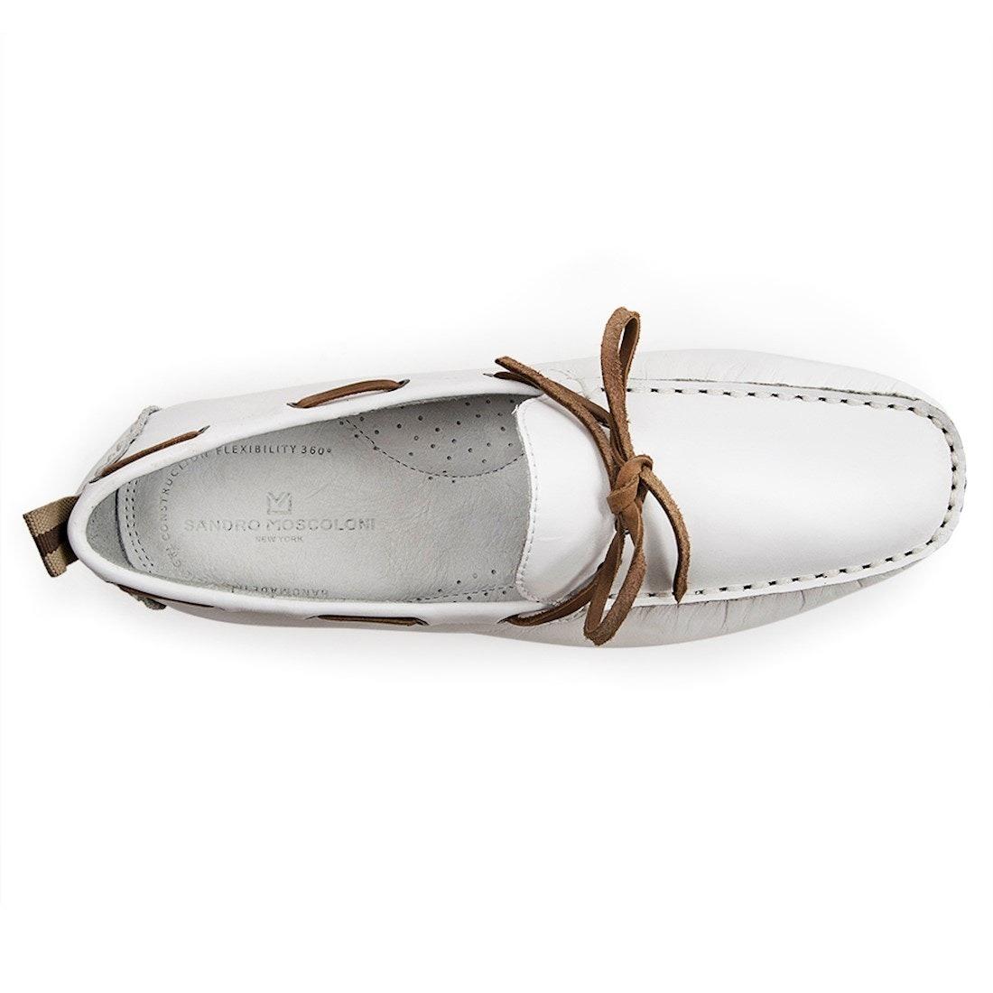 6873a6c8e685e Sapato Masculino Driver Sandro Moscoloni Break Branco - R$ 303,26 em  Mercado Livre