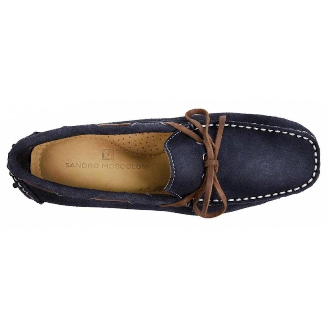 5bb859d757 Carregando zoom... sapato masculino driver sandro moscoloni akron azul  marinho