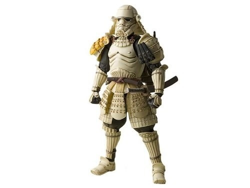 sandtrooper samurai, figura star wars exclusivo, bandai, em5