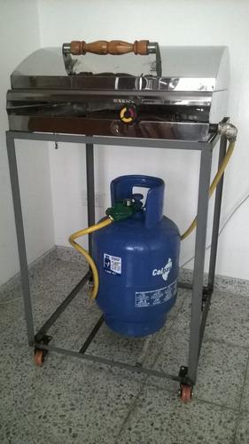sanduchera industrial colitas cubanas a gas acero inox