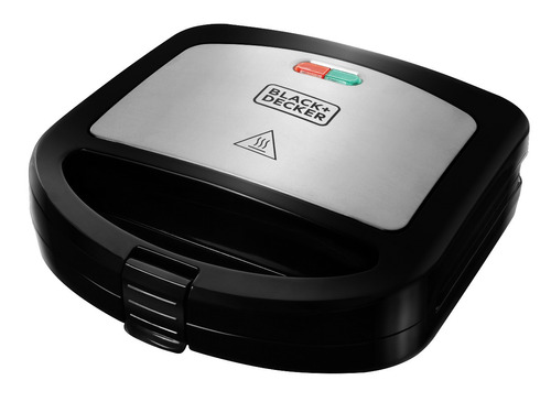 sanduchera panini xpress black&decker 700 watts - pan24535