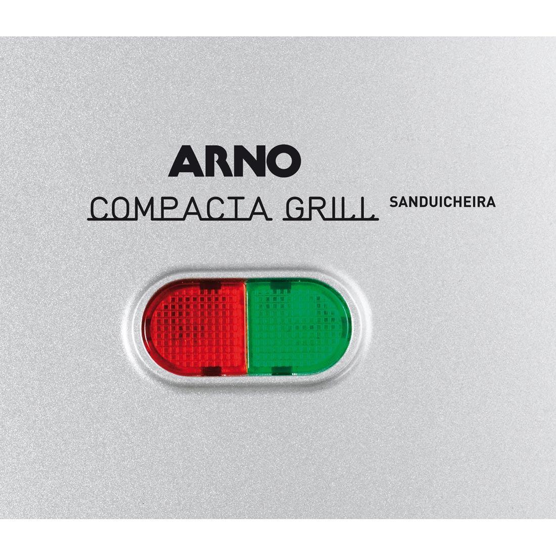 #028D44 Sanduicheira Compacta Grill Inox 110v Arno R$ 99 90 em Mercado  1100x1100 px Armario De Cozinha Compacta Ricardo Eletro #1987 imagens