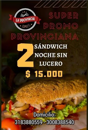 sandwich promo valledupar