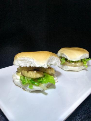 sándwich vegetariano,  x 24 unidades para las fiestas