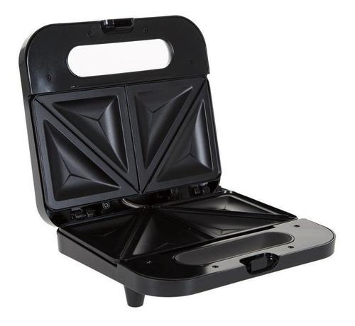 sandwichera compacta 2 rebanadas negra oster ckstsm2885-013