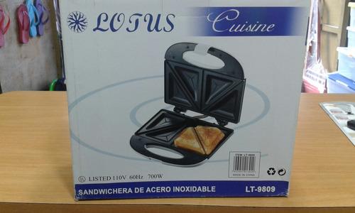 sandwichera de 2 panes