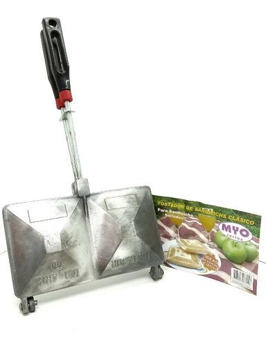 sandwichera tostador de aluminio para 2 sandwichs/ tostados