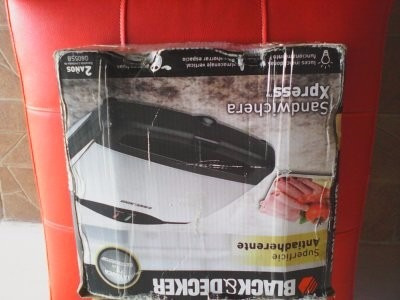 sandwichera xpress black & decker