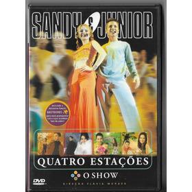 Sandy & Junior - Quatro Estações   -  Dvd   - Ver O Video