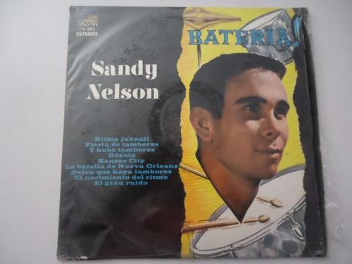 sandy nelson / bateria vinyl lp acetato