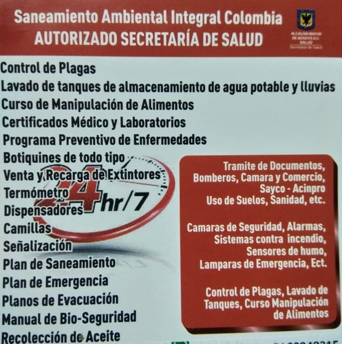 saneamiento ambiental integral colombia