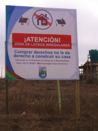 saneamos terrenos comprados/por cesión/de derechos