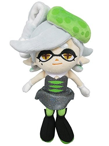sanei sp04 splatoon series marie green squid hermana rellena
