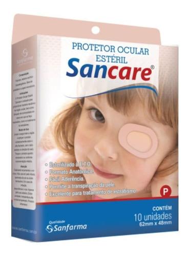 sanfarma sancare protetor ocular estéril p c/10