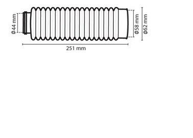 sanfona bengala 18 dentes preta bros xlr xlx dt tdr circuit