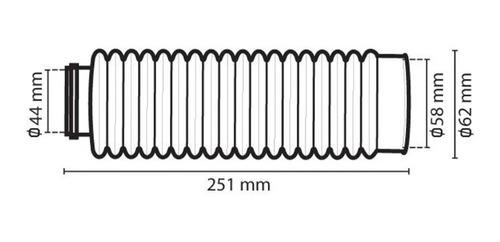 sanfona bengala circuit 18 dentes moto cores várias