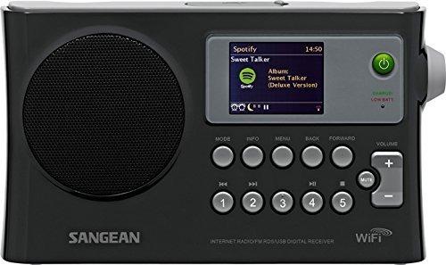 sangean wfr28 internet radiofmrbdsusbnetwork reproductor de