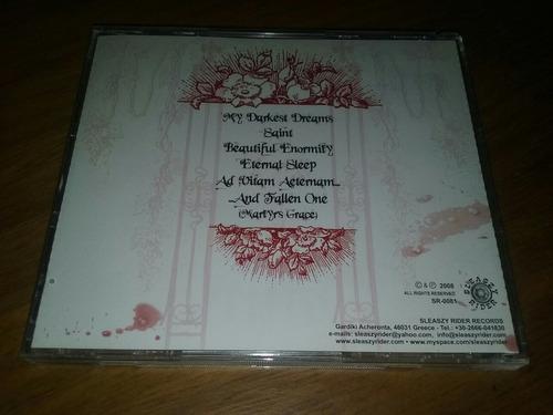 sangre eterna amor vincit omnia cd ( arch enemy in flames )