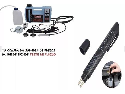 sangria de freios + testador de fluidos de freios *brinde*