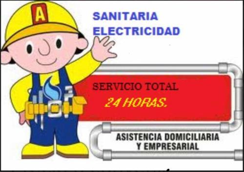 sanitario electricista urgencias: 24hrs.