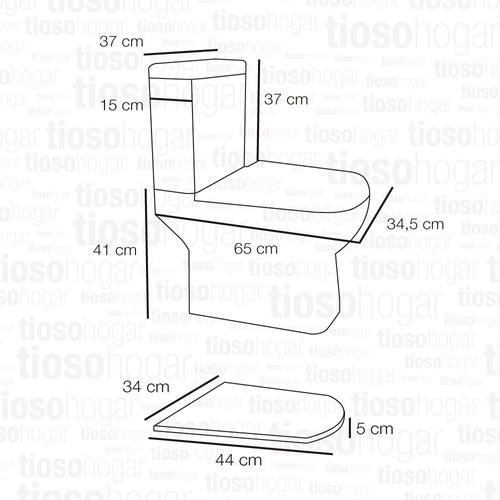 sanitario minimalista cuadrado dioniso pringles inodoro largo mochila apoyo doble descarga 3 y 9 lts 37x37x15 cm
