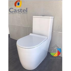 Sanitario O Wc De Lujo Melia Tanque Alto Castel Promoción