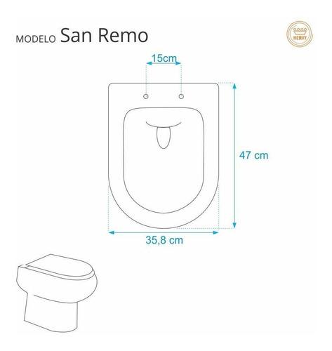 sanitário san assento