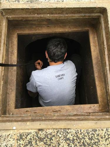 sanitario urgencias 24hs desobstrucciones reparaciones