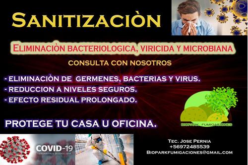 sanitizaciòn