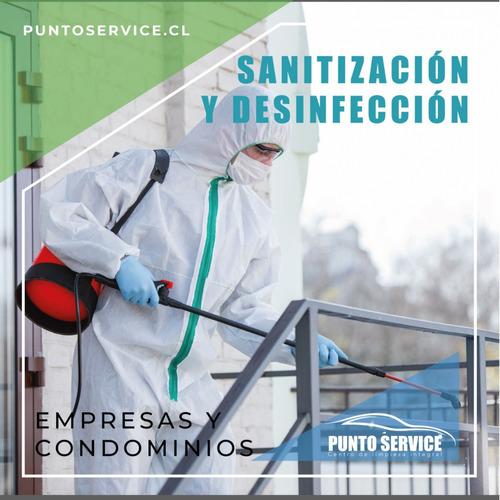 sanitización de ambientes y vehículos