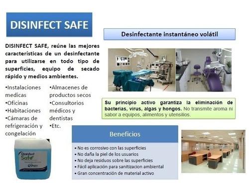 sanitizacion de areas