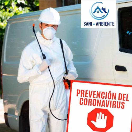 sanitizacion desinfección